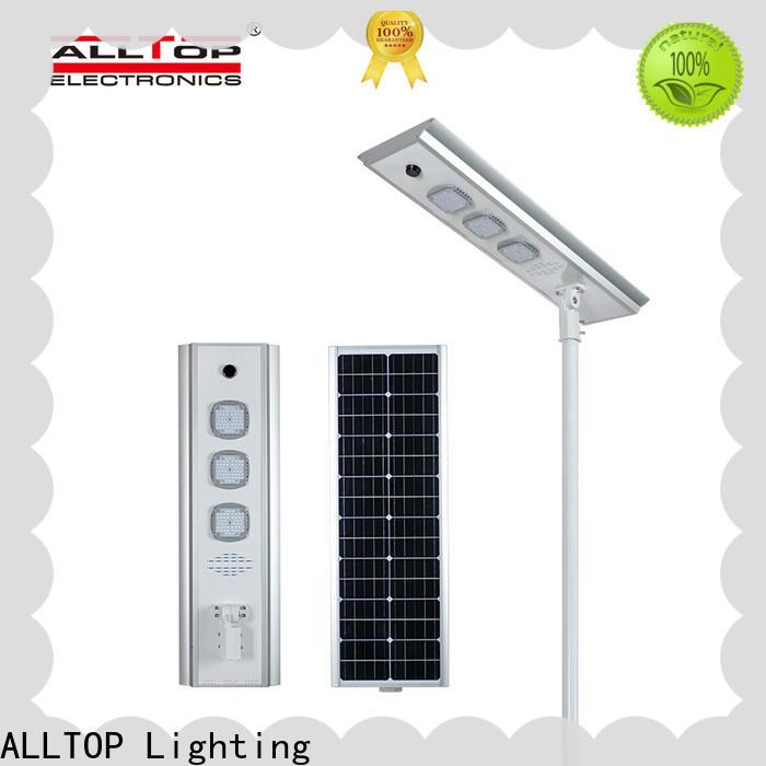 ALLTOP high-quality best outdoor solar street lights high-end manufacturer
