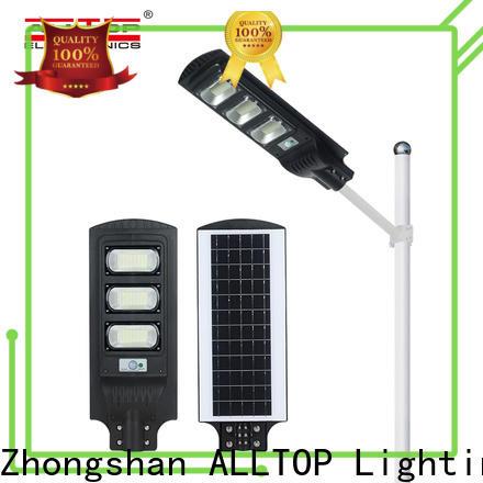 ALLTOP waterproof solar powered streetlight high-end wholesale