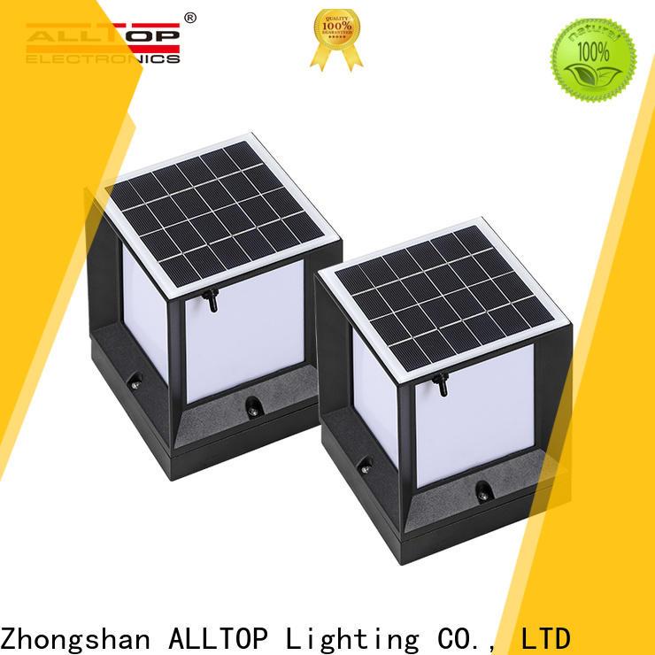 ALLTOP solar powered fence post caps