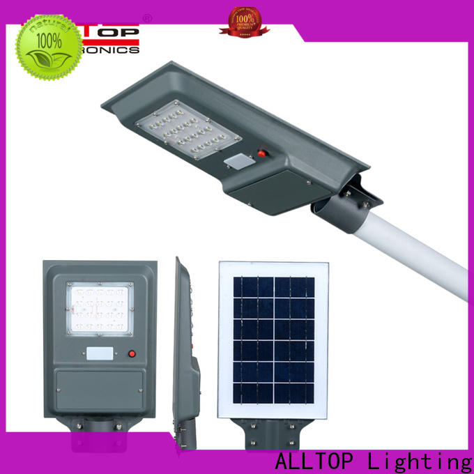 ALLTOP outdoor lithium solar light high-end manufacturer