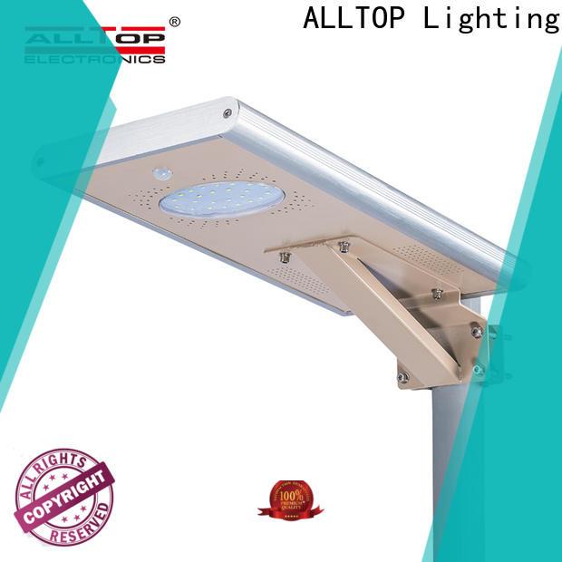ALLTOP solar street light for home functional wholesale