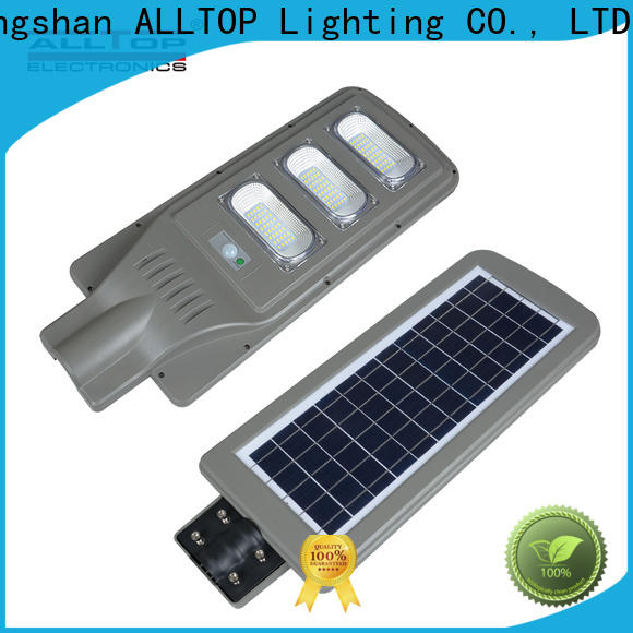 ALLTOP waterproof municipal solar street lights functional wholesale
