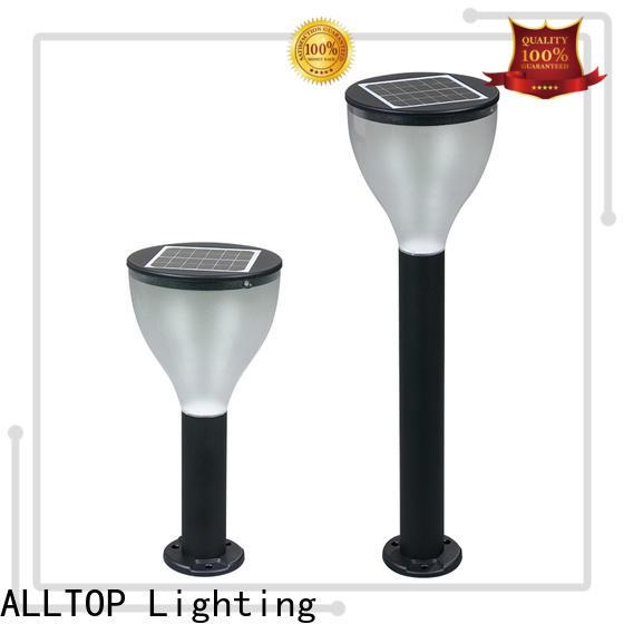 ALLTOP solar powered driveway post lights