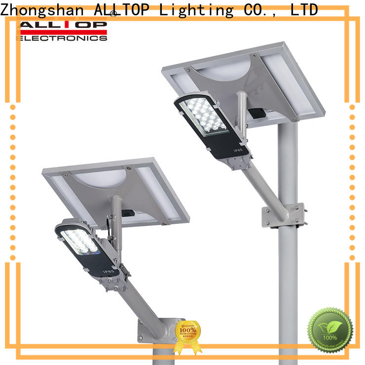 solar led street lamp supplier for outdoor yard