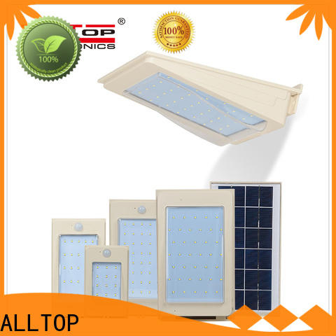 ALLTOP solar wall sensor light directly sale for party