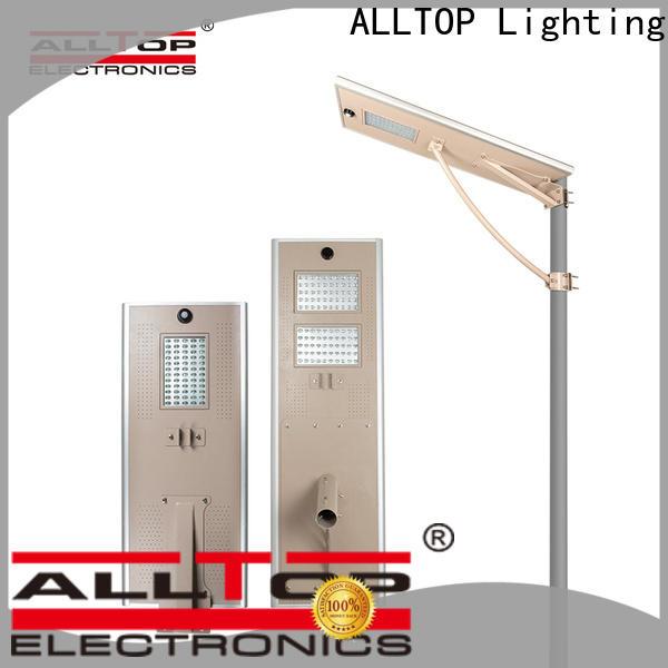 ALLTOP adjustable solar street light for garden supplier for highway