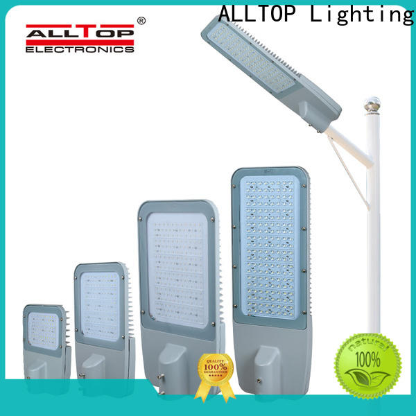 ALLTOP solar powered street lights factory supply