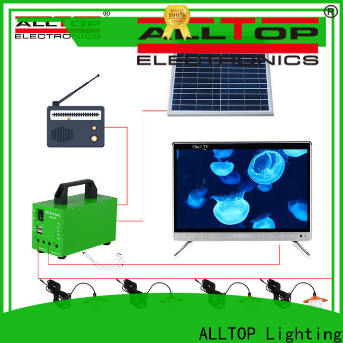 ALLTOP home solar panel system factory direct supply for camping