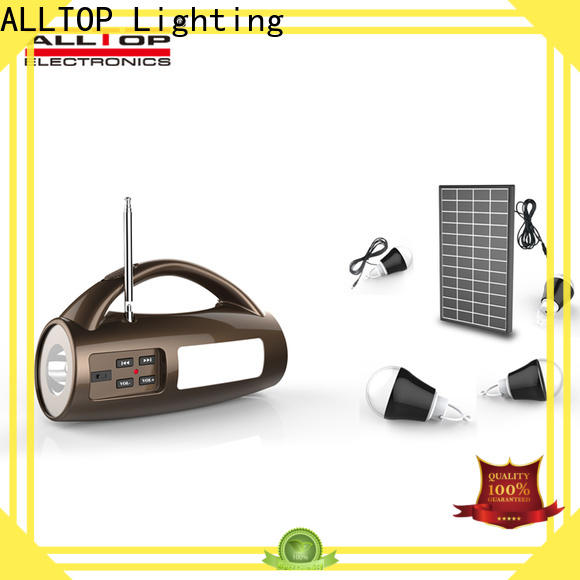 ALLTOP solar electric system wholesale for camping