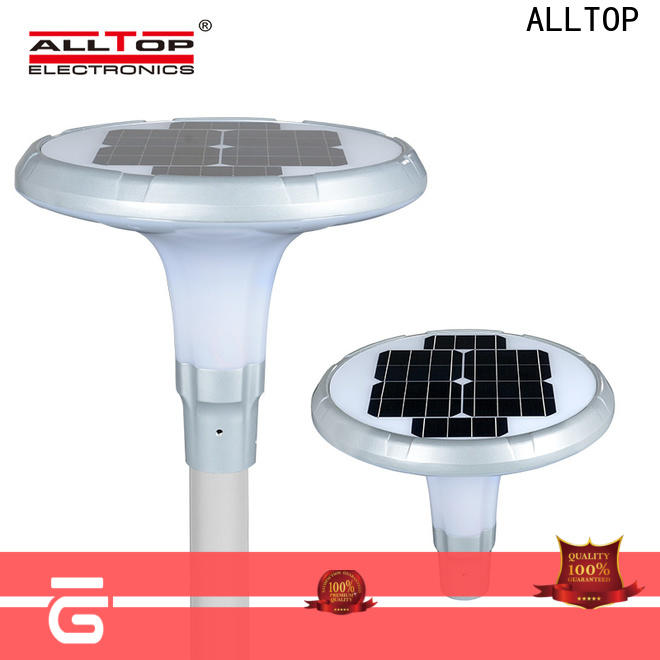 ALLTOP solar street lamp factory for outdoor yard