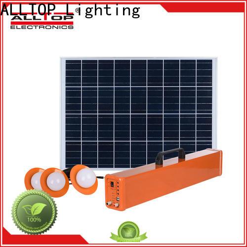 ALLTOP solar panel system directly sale for battery backup