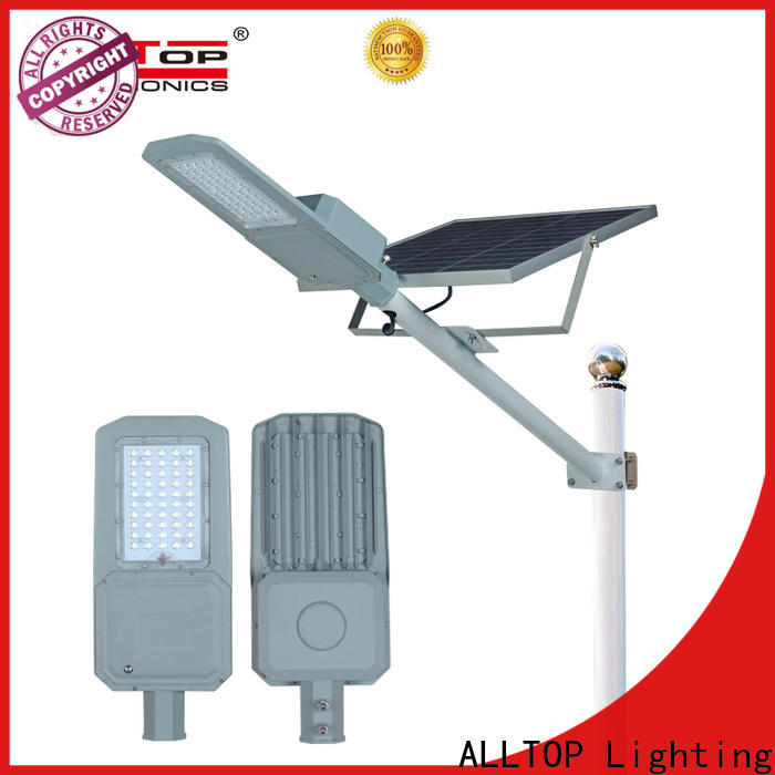 ALLTOP solar led street light supplier for garden