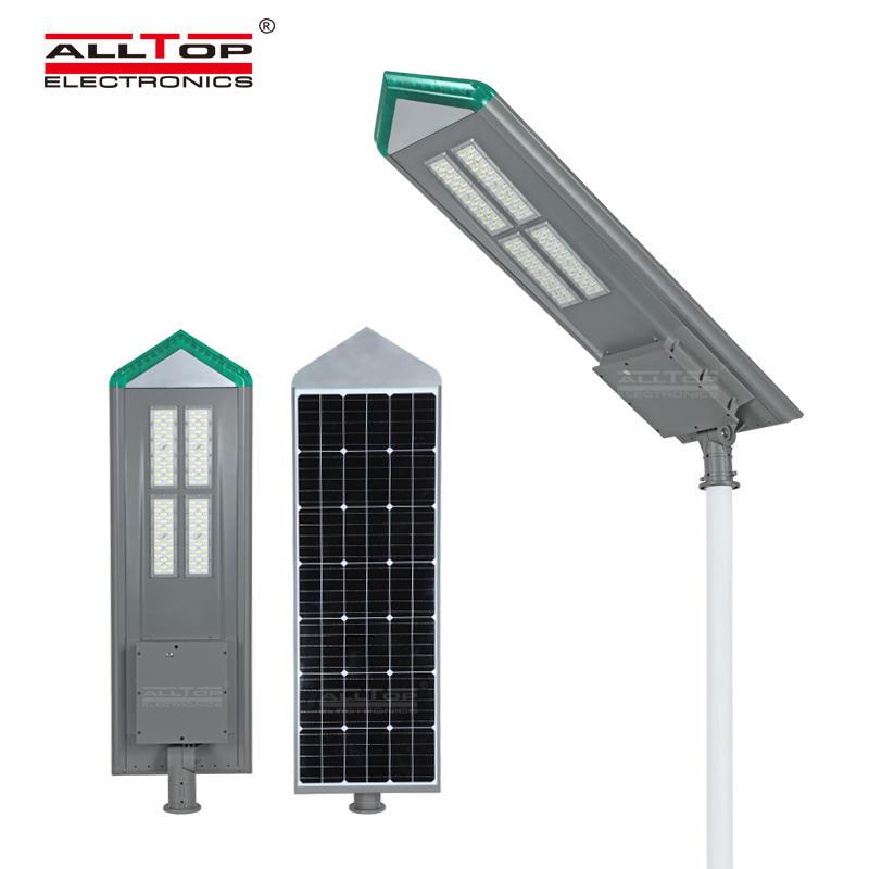 ALLTOP outdoor waterproof IP65 180W all in one solar LED street light
