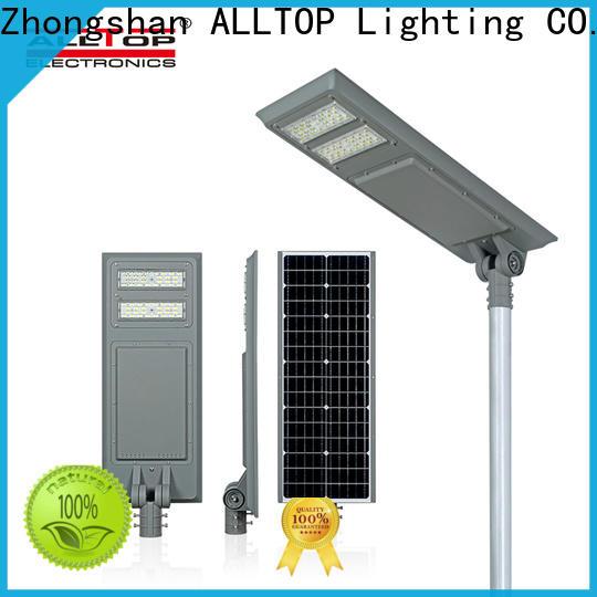 ALLTOP solar street light for garden factory direct supply for road