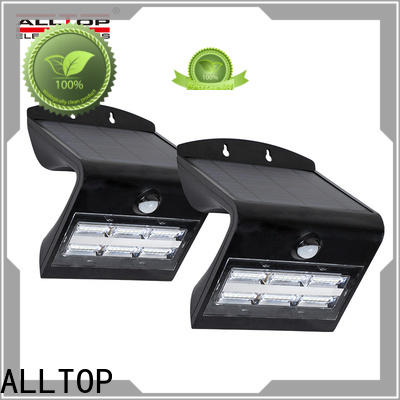 ALLTOP energy-saving solar mounted lights wholesale for garden