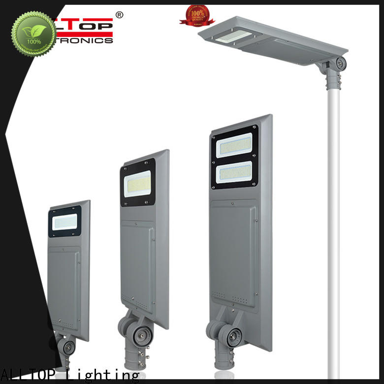 ALLTOP led street light with solar panel best quality manufacturer