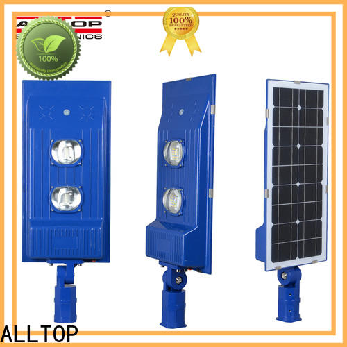 ALLTOP outdoor solar street light with panel and battery high-end manufacturer