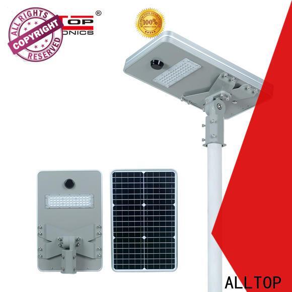 ALLTOP waterproof wholesale all in one solar led street light best quality supplier