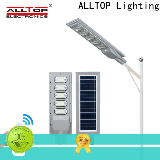 ALLTOP solar street light with panel and battery best quality manufacturer
