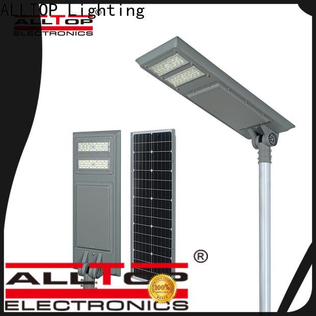 ALLTOP solar street light suppliers high-end manufacturer