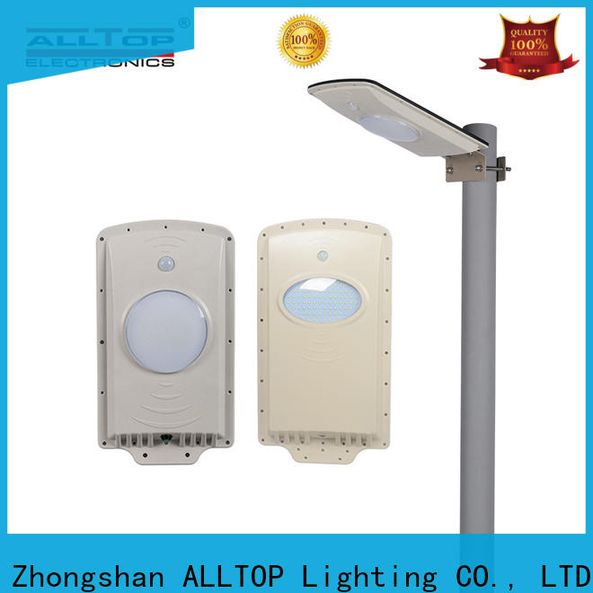 ALLTOP customized all in one solar led street light series for highway