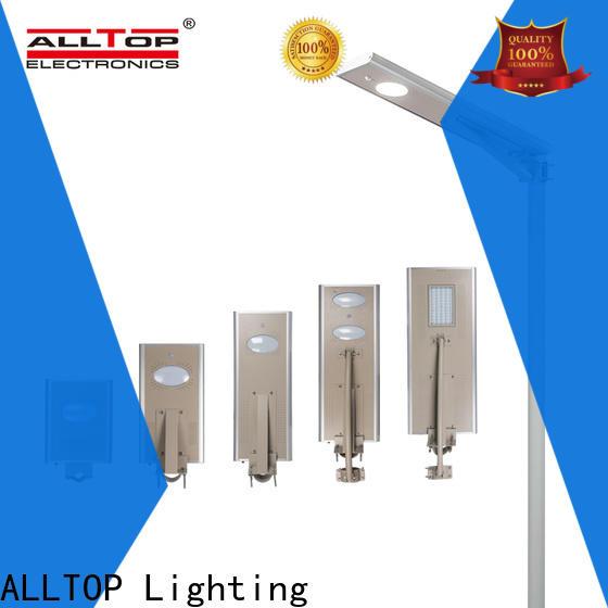 ALLTOP adjustable solar street light ip65 wholesale for garden