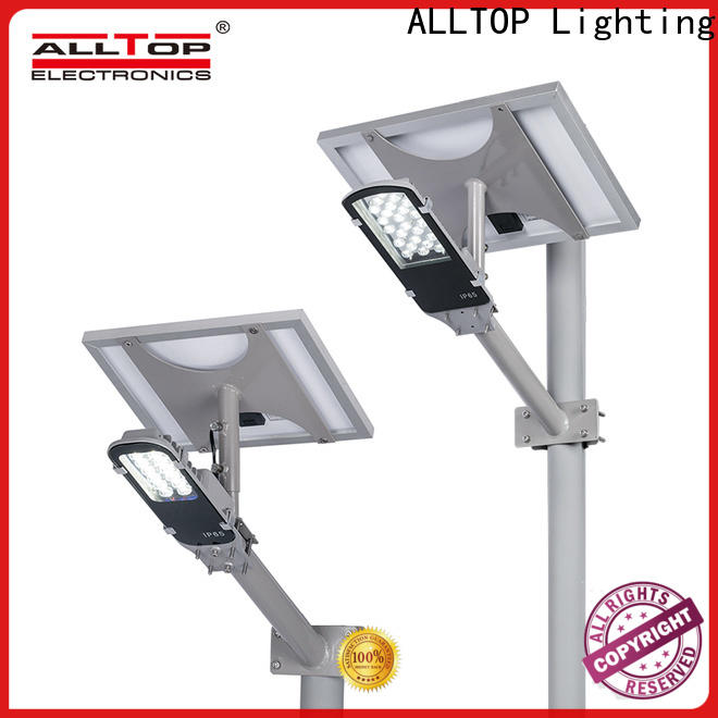 ALLTOP energy-saving 12w solar street light factory for playground