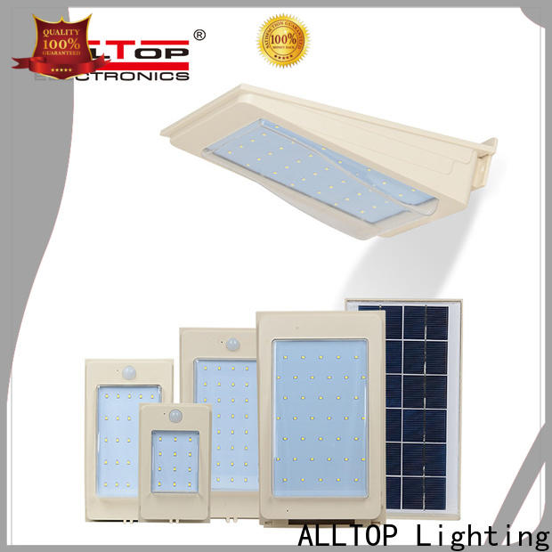 ALLTOP energy-saving solar powered external wall lights with good price highway lighting