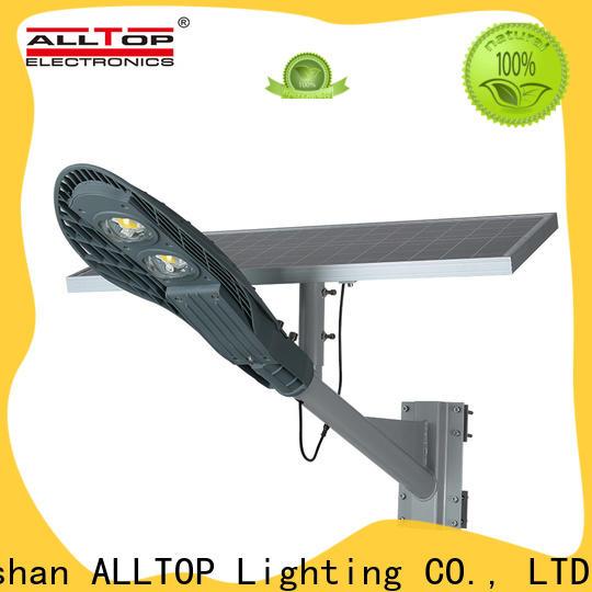 ALLTOP 20w solar street light factory for outdoor yard