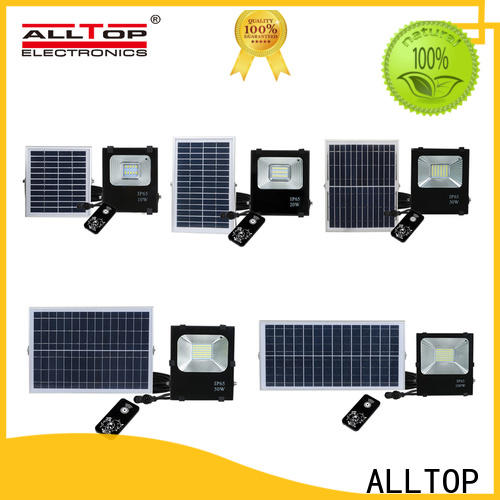 rechargeable most powerful solar flood light company for stadium