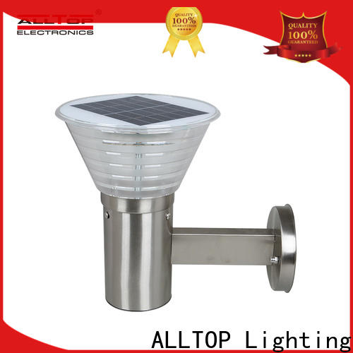 ALLTOP wall hanging solar lights wholesale for garden