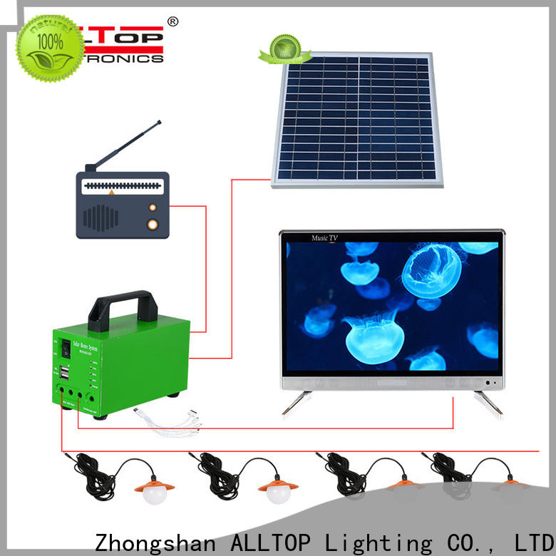 ALLTOP energy-saving solar home lighting system manufacturers with good price for home