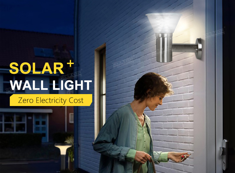 ALLTOP modern china solar wall light manufacturer for camping-2