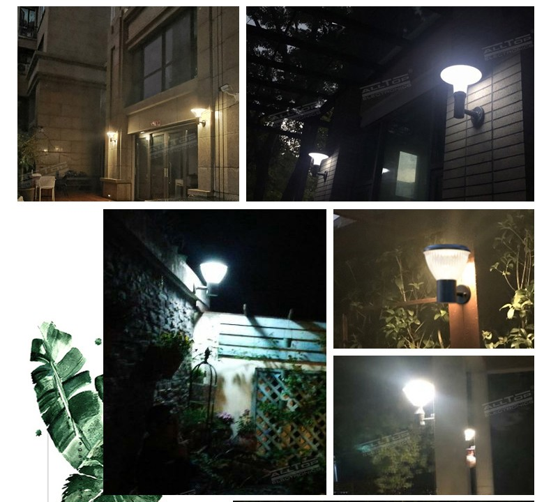 ALLTOP modern china solar wall light manufacturer for camping-6