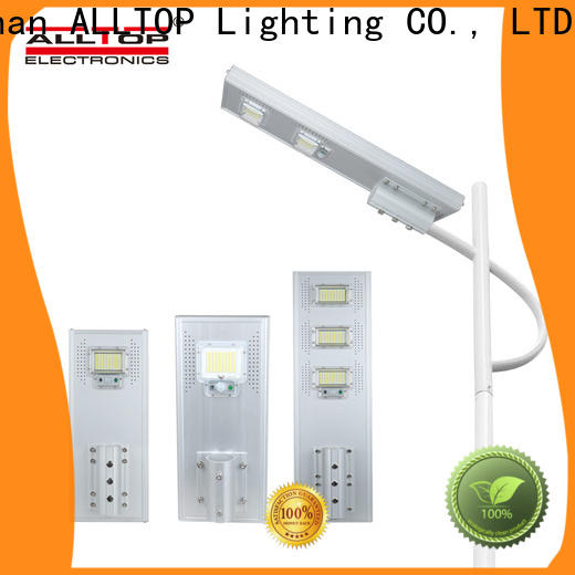ALLTOP all in one solar street light factory manufacturer for road