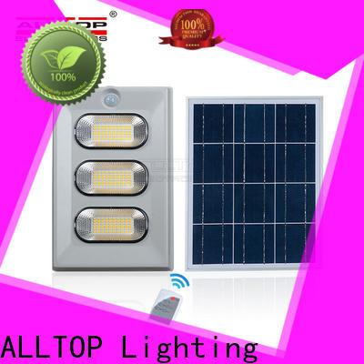 ALLTOP folding commercial solar lighting suppliers for spotlight