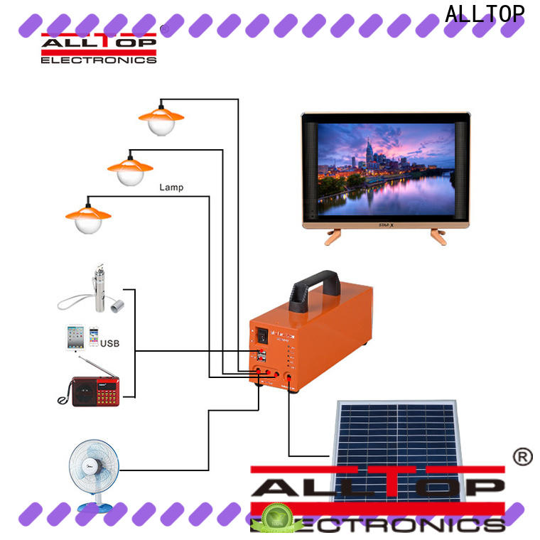 ALLTOP multi-functional solar power system manufacturers factory direct supply indoor lighting