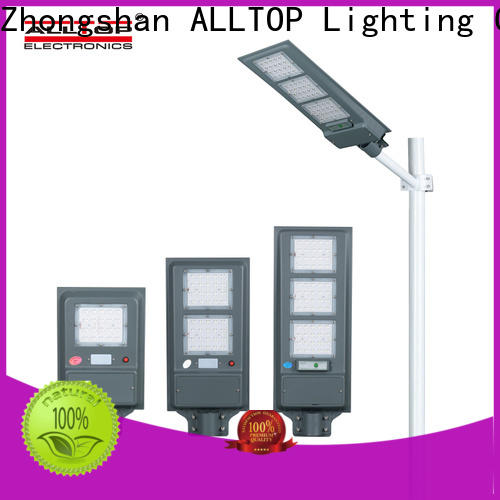 ALLTOP high quality all in one solar street light factory direct supply for road