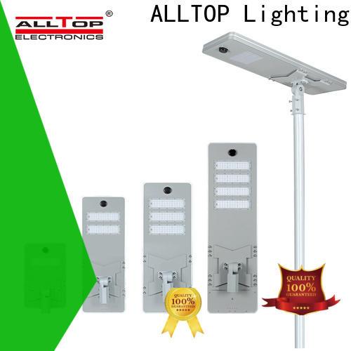 ALLTOP outdoor residential solar street lights wholesale for garden