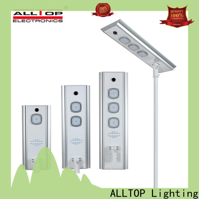 ALLTOP adjustable angle solar street light ip65 wholesale for garden