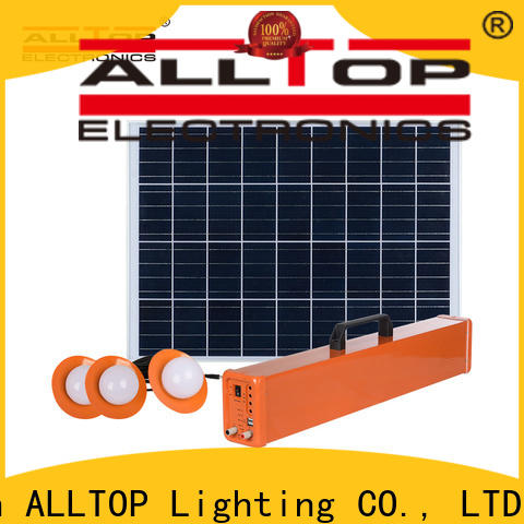 ALLTOP solar panel lightning system for home wholesale for camping