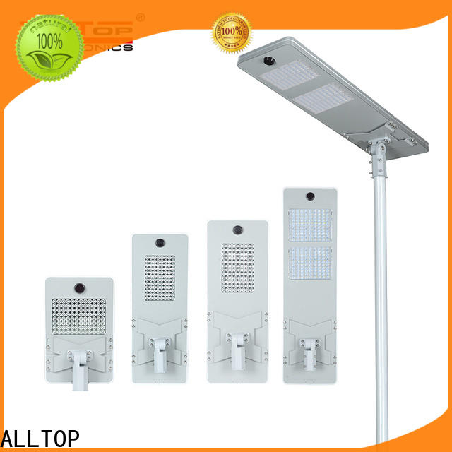 ALLTOP integrated outdoor led solar lights with good price for highway