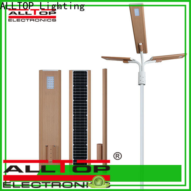 ALLTOP high-quality commercial solar powered street lights directly sale for garden