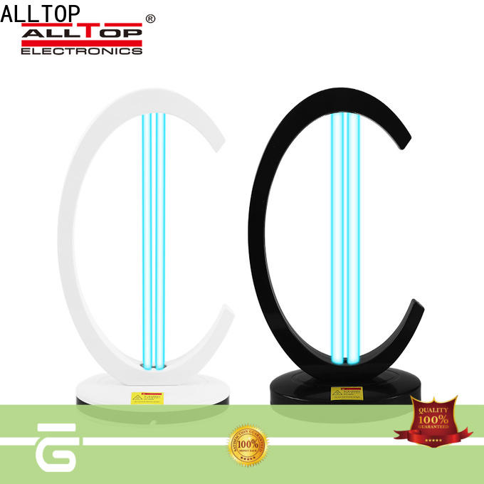 ALLTOP convenient uvc ozone disinfection light manufacturer factory for bacterial viruses