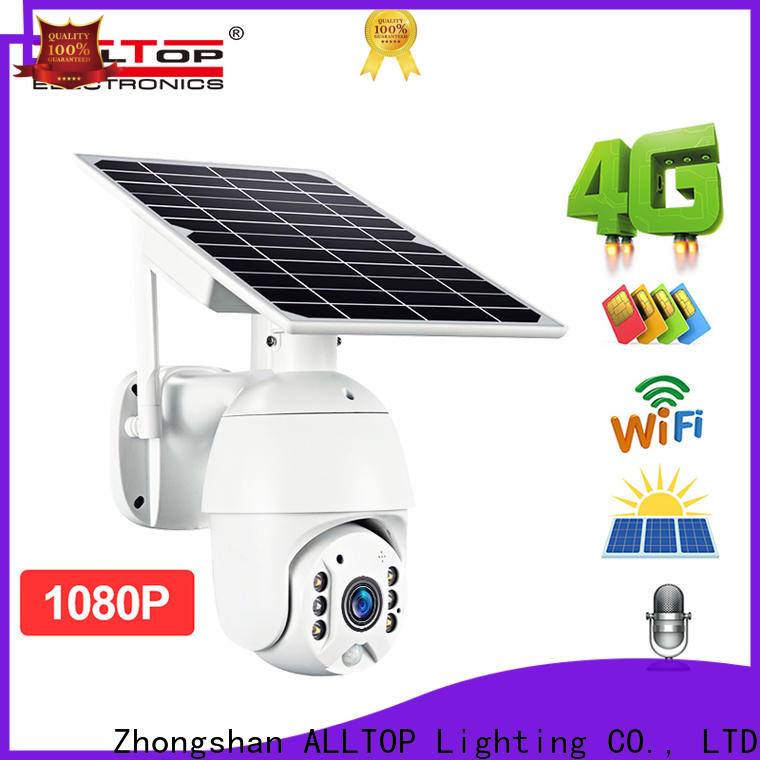 solar powered ip camera