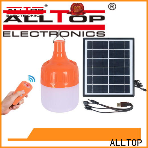 ALLTOP outdoor solar wall light directly sale for garden