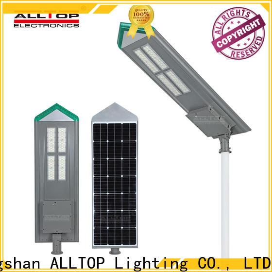 ALLTOP energy-saving street lamp solar with good price for garden