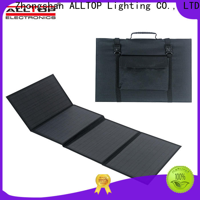 ALLTOP multi-functional small solar lighting system with good price for battery backup