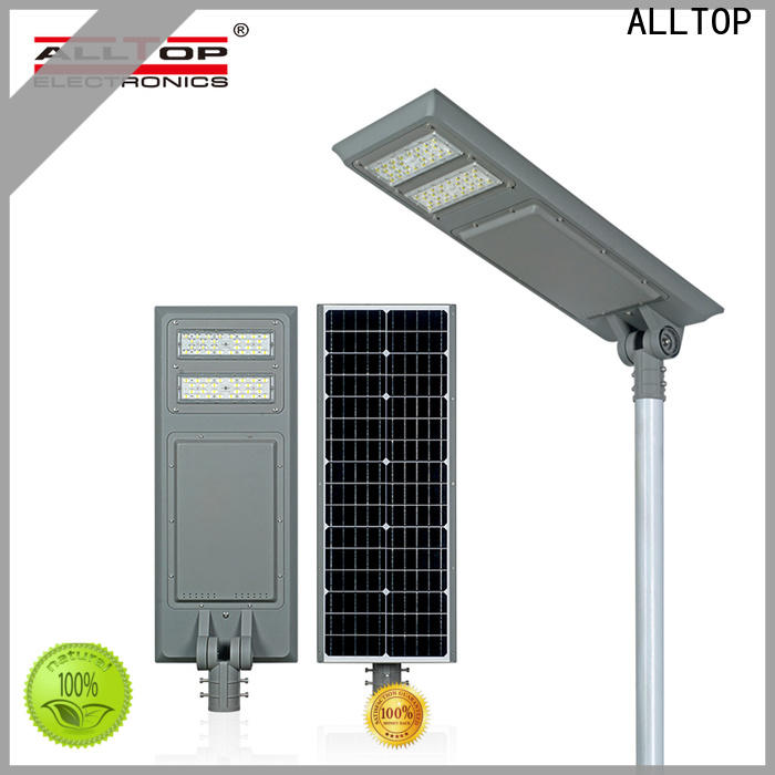 ALLTOP high-quality street lamp solar panel high-end supplier