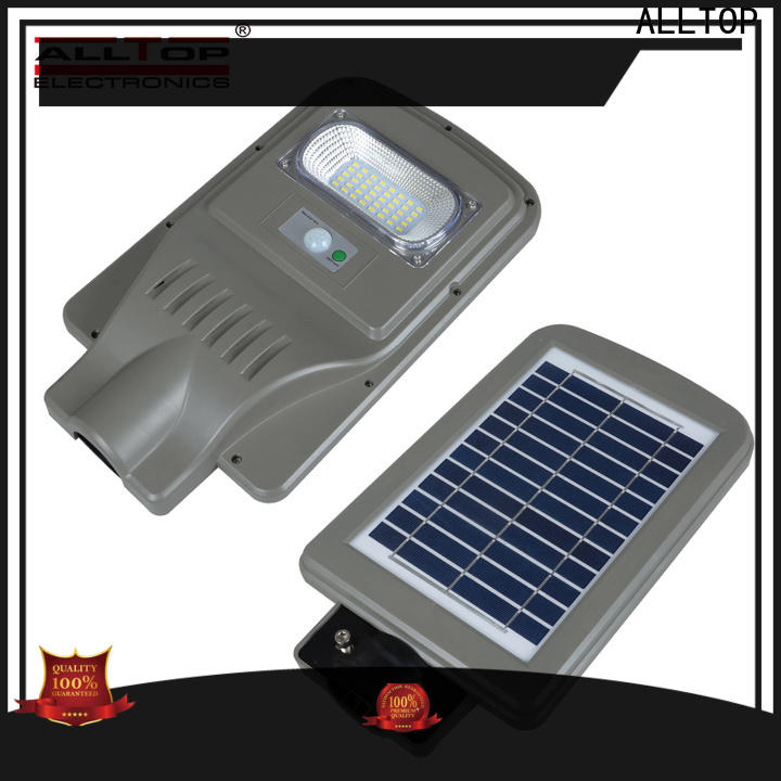 ALLTOP solar street light led functional supplier